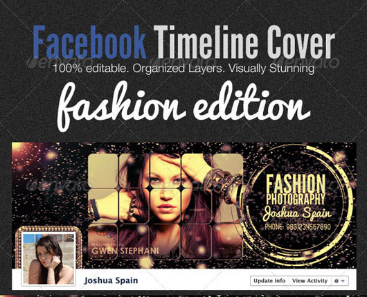 Facebook Timeline Covers – Fashion Edition