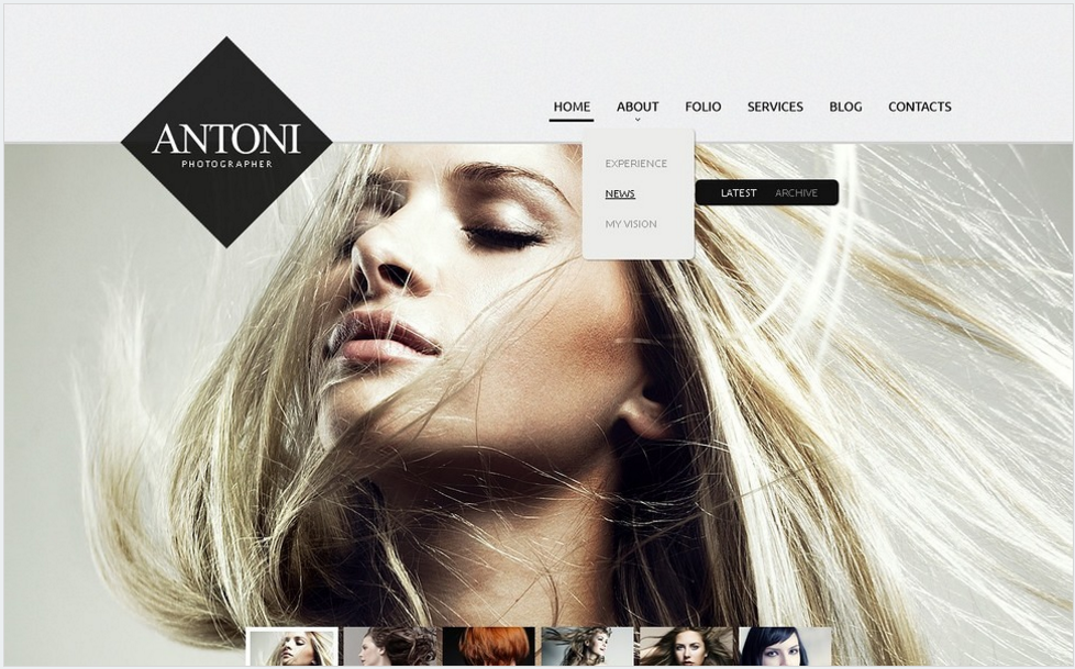 Best Design And Photography Drupal Themes