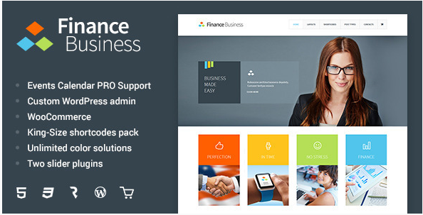Finance Business - Company Office Corporate Theme