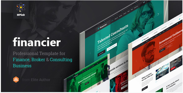Financier - Finance, Consulting, Broker, Business, Multipurpose WordPress Theme with RTL support
