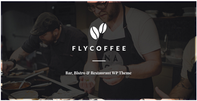 FlyCoffee - Bar and Restaurant WordPress Theme