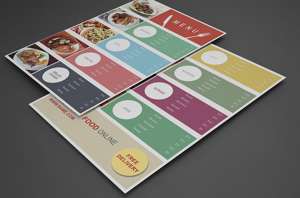 Food-Court-Menu-design-psd