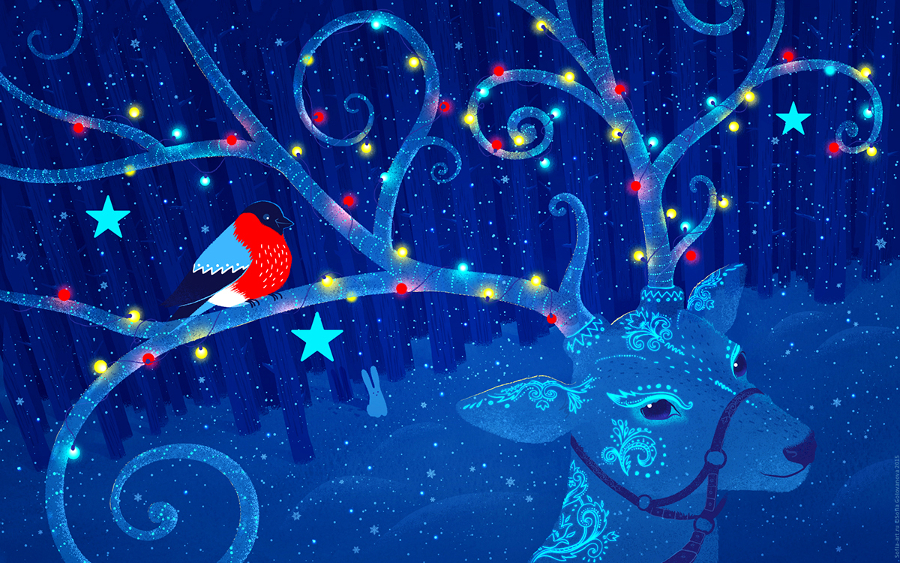 Awesome Christmas Desktop Backgrounds