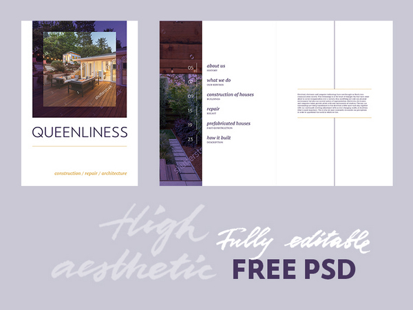 Free Real Estate Brochure Template