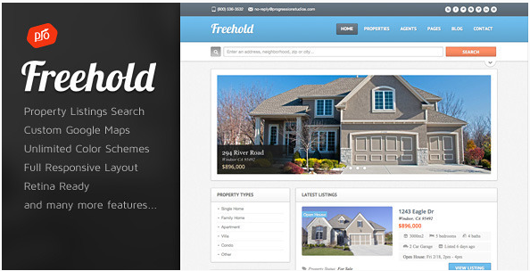 Freehold - Responsive