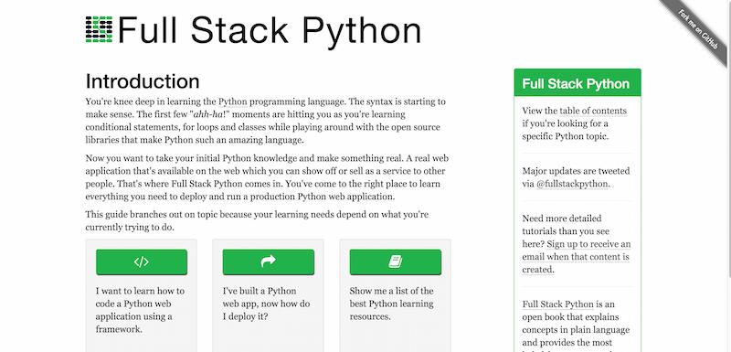Full-Stack-Python