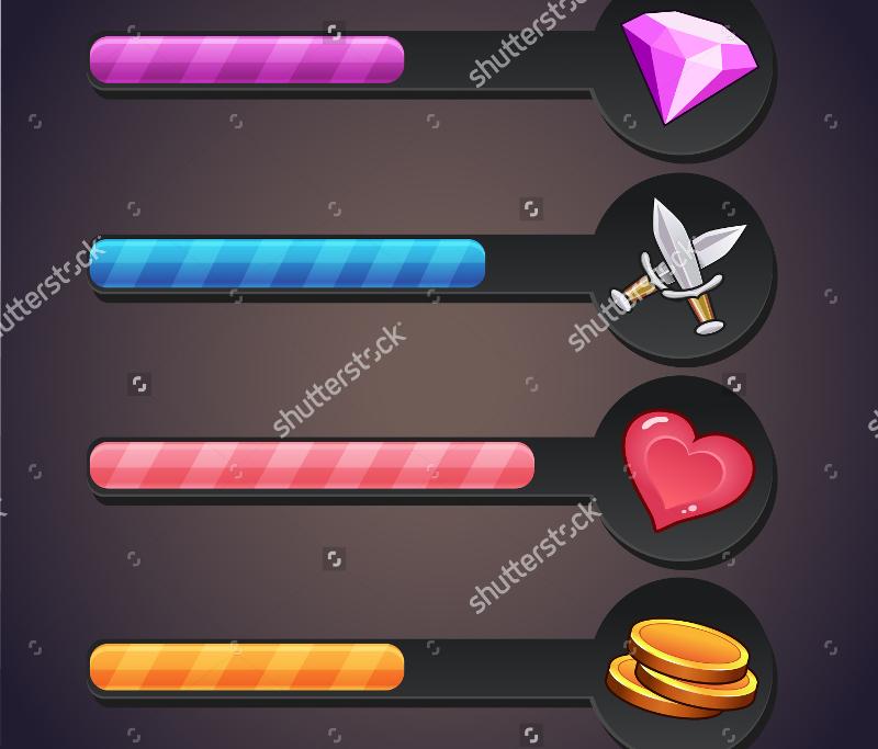 Game-Resource-Progress-Bar