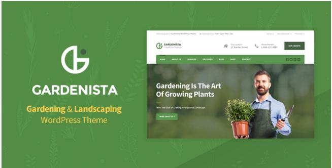 Gardenista - Gardening & Landscaping WordPress Theme