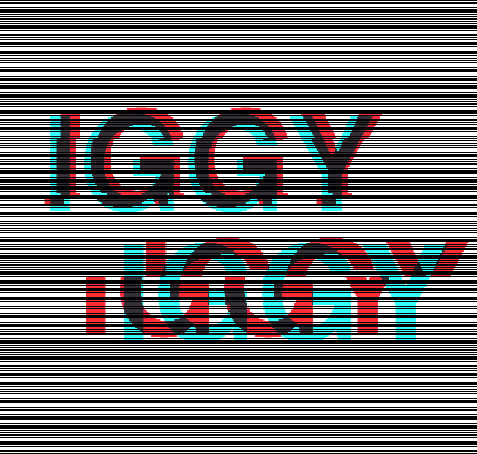 Glitched Helvetica