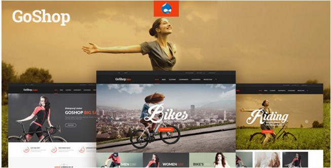 GoShop - Best Drupal Ecommerce Themes
