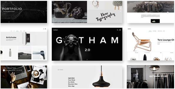 Gotham - Responsive Creative WordPress Theme