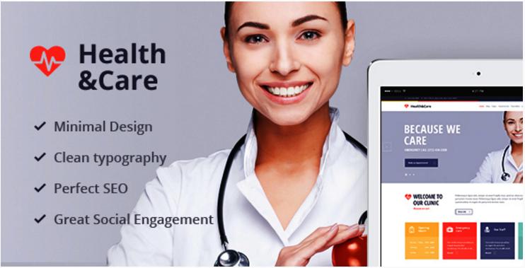 Health & Care - Medical WordPress Theme