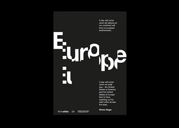 Helvethic Poster Series