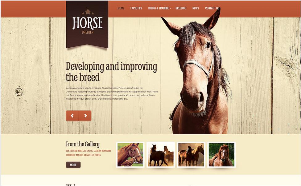 Horse Spirit Drupal Template