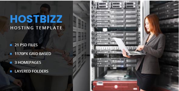 HostBizz-Hosting PSD template