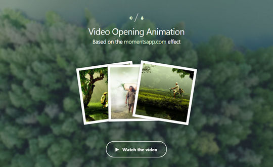 How to Create a Fullscreen Video Opening Animation