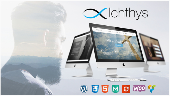 Ichthys - Charity WordPress Theme