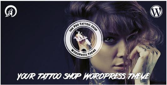 Ink Pro - Professional Tattoo Shop WordPress Theme