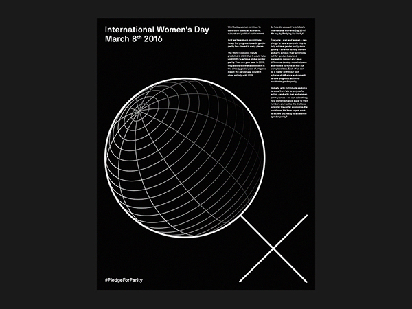 Black And White Poster Designs