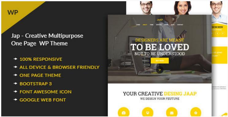 Jaap - Creative MultiPurpose WordPress Theme