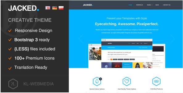 Jacked - Creative WordPress Theme