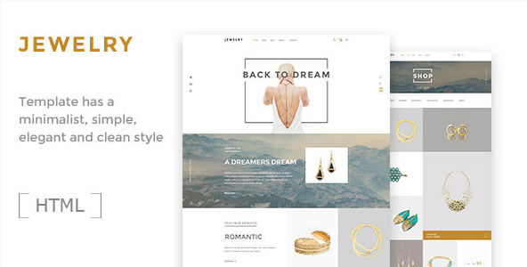 Jewelry- Ecommerce HTML5 Template