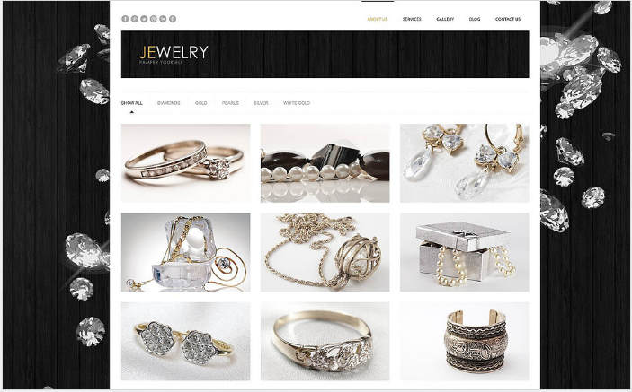 Jewelry Responsive WordPress Theme