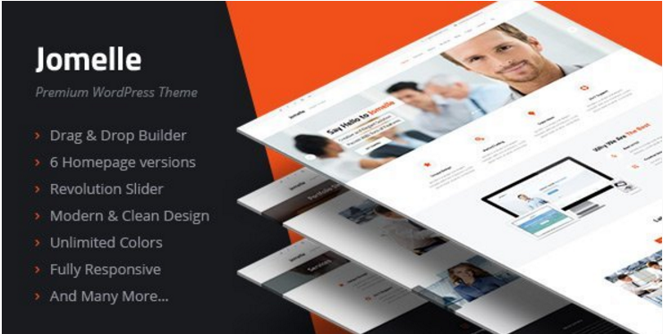 Jomelle - Multipurpose Business WordPress Theme