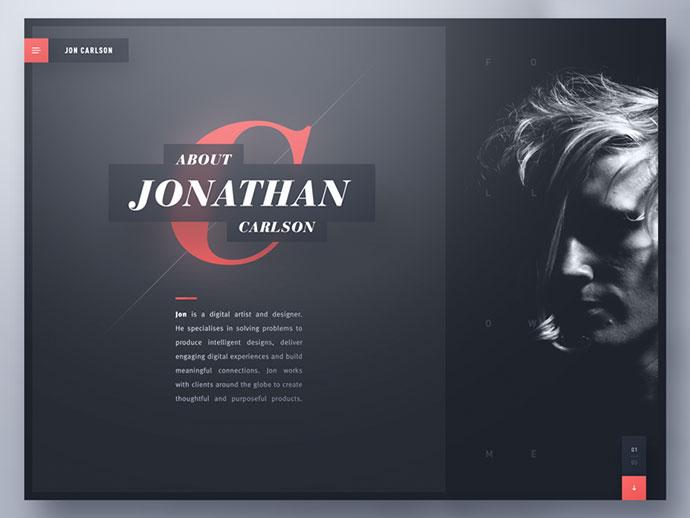 Jon Carlson — Creative Portfolio by Ben Schade