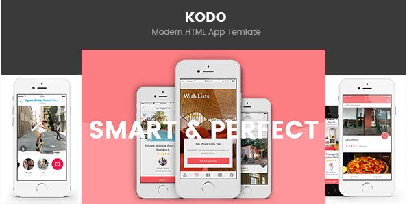 Kodo - Business App Template