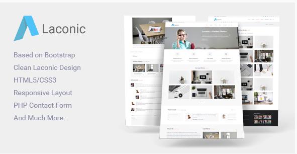 Laconic - BusinessCorporate HTML5 Template