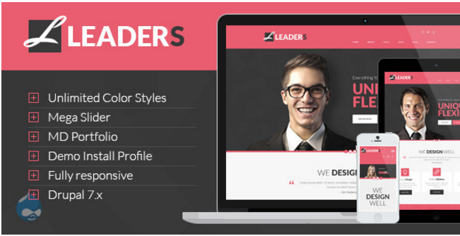 Leaders – Creative Multipurpose Drupal Theme