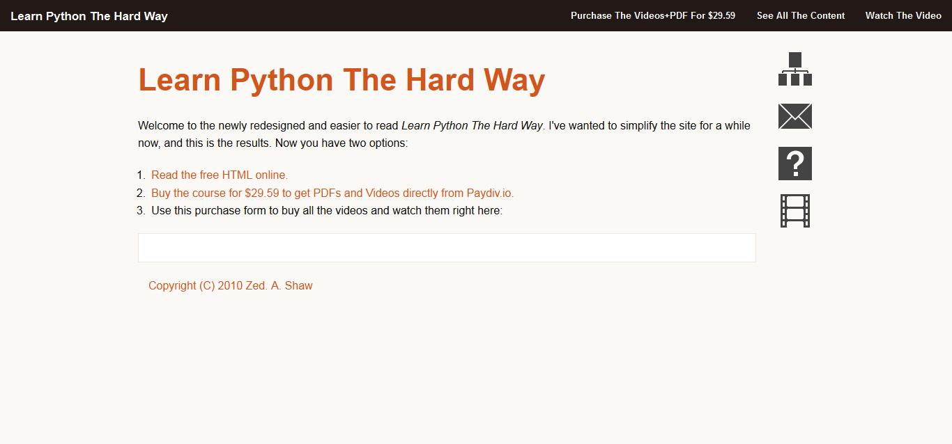 Learn-Python-the-Hard-Way