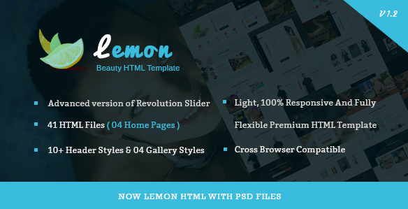 Lemon - Spa and Beauty Responsive HTML5 Template