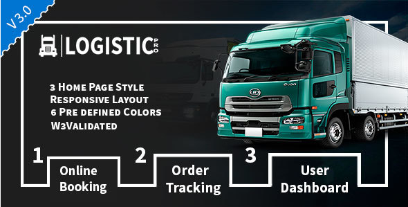 Logistic Pro - Transport - Cargo - Online Tracking - Booking & Logistics Services