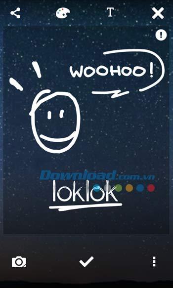 LokLok Draw on a Lock Screen