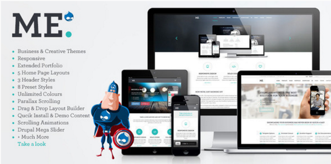 ME - MultiPurpose, Creative Drupal Theme