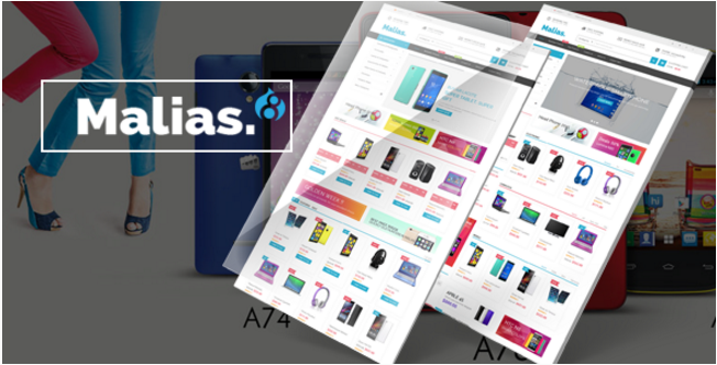 Malias - Best Drupal Ecommerce Themes