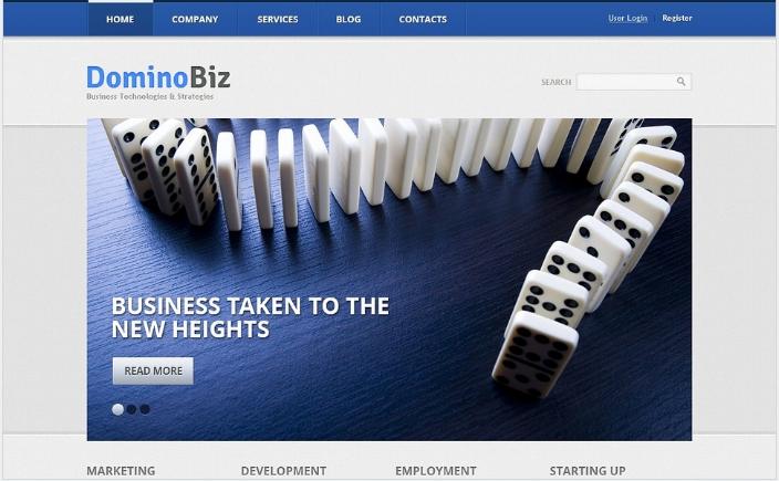 Marketing Business Drupal Template
