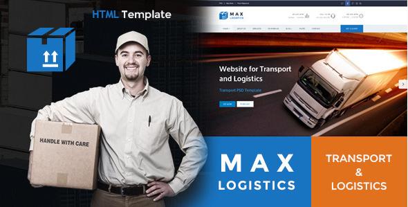 Max Logistics - Transport & Logistics HTML Template