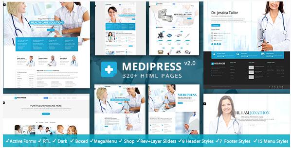 MediPress - Health & Medical Respnsive HTML5 Template