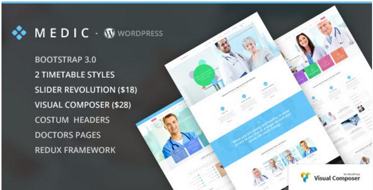 Medic - Health Medical WordPress Themes