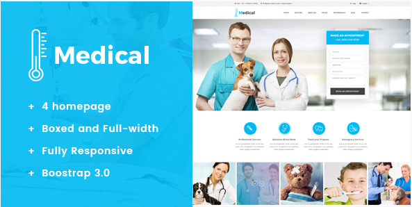 Best Health and Medical HTML Templates