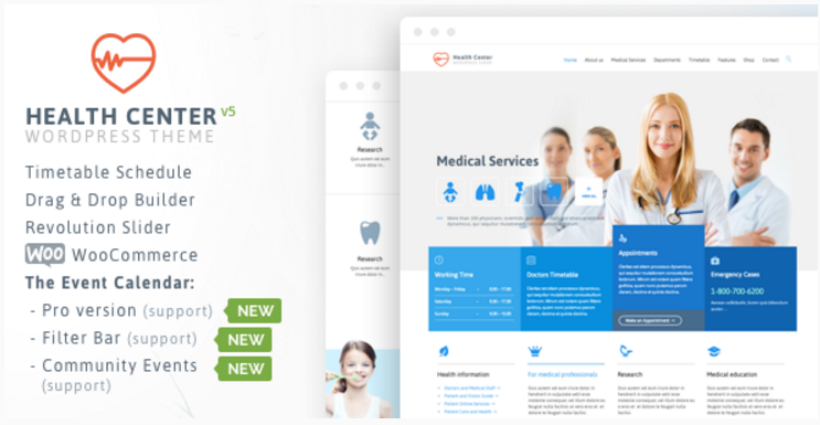 Medical Health -Theme for Medical Health and Dentist Center