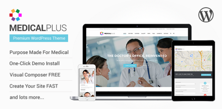 MedicalPlus - Health and Medical WordPress Theme