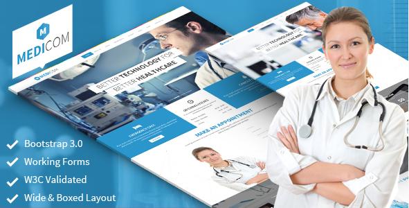 Medicom - Medical & Health Template