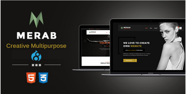 Merab - Creative Multipurpose Drupal 8 Theme