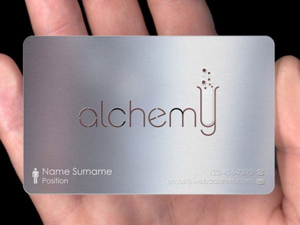 Metal-Business-Cards