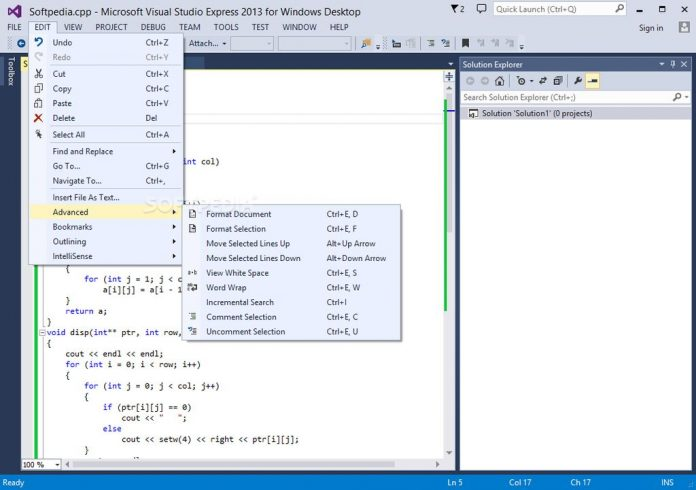 Microsoft Visual Studio Express