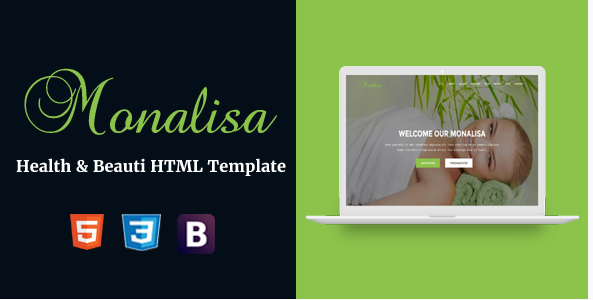 Monalisa - Health & Beauti HTML Template